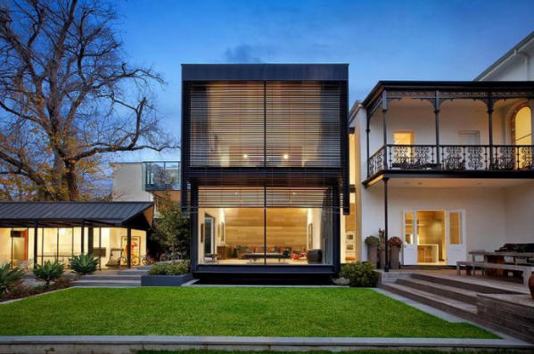 Contemporary renovation on a classic Victorian residence.